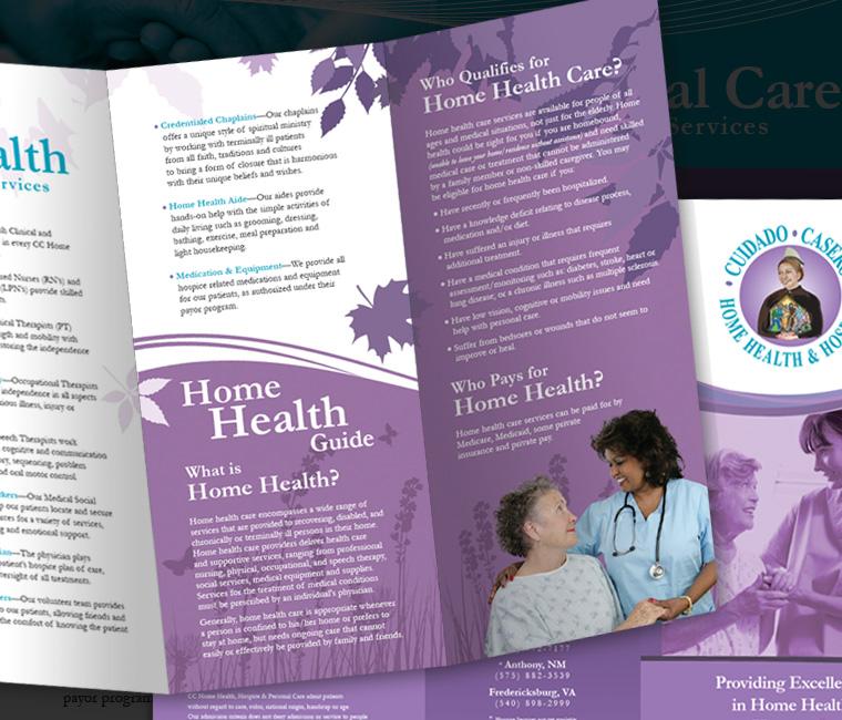 Medica Health Management Brochure Design