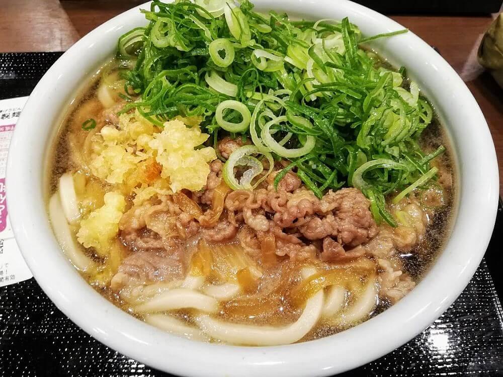 丸亀製麺の肉うどん