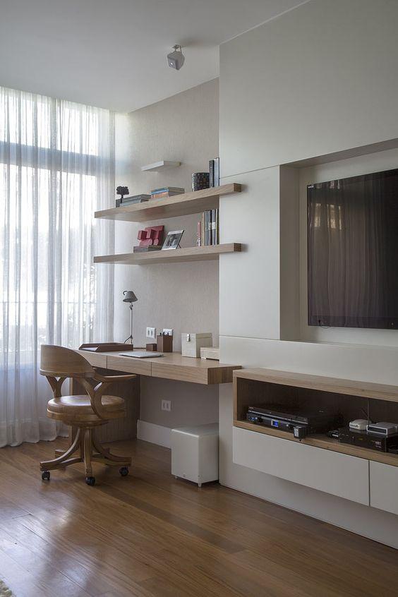 Decorao de Escritrio em Apartamento Pequeno FotosS Decor