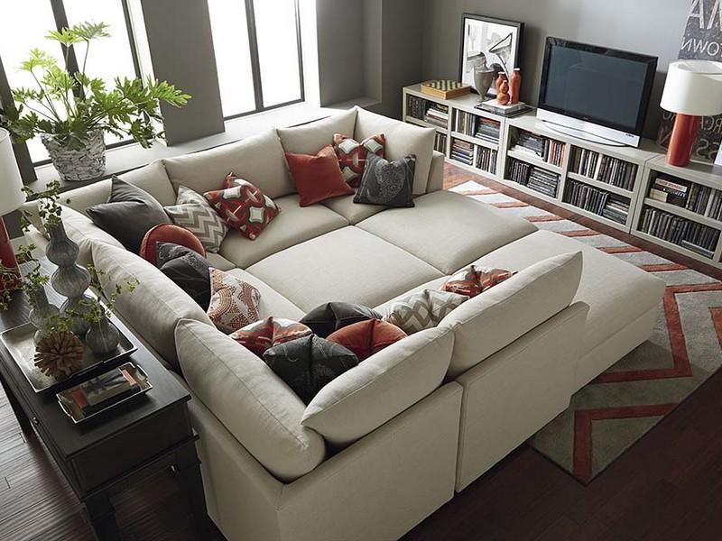 sofas modernos para sala de tv minnie mouse sofa target modelos 60 fotos decoracao grande estar