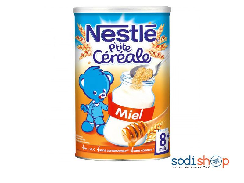 nestle p tite cereale au miel pour enfant 900g at0083