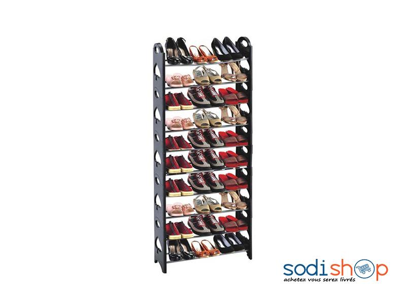 placard de rangement pour chaussure 10 etageres mtg0078