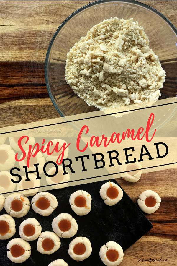 Low Sodium Caramel Shortbread