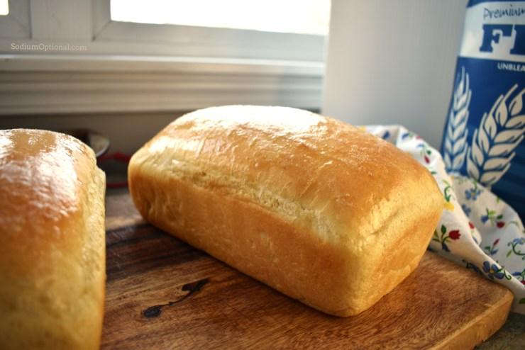Low Sodium White Bread