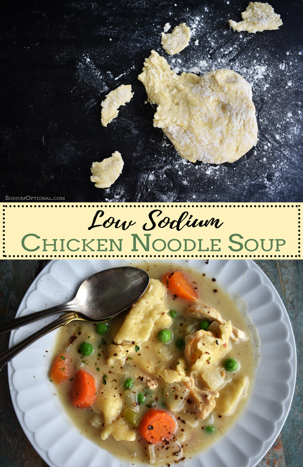 Low Sodium Chicken Noodle Soup