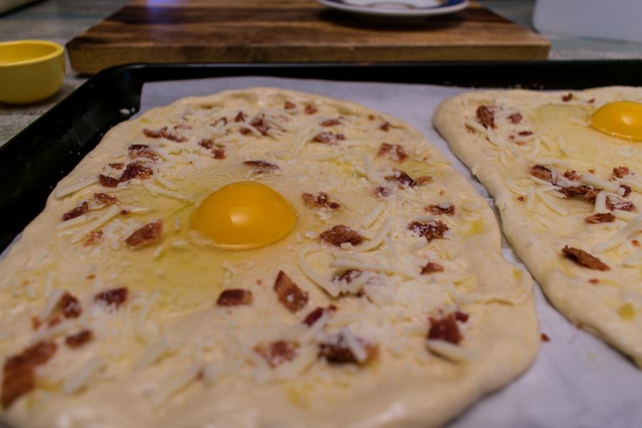Low Sodium Carbonara Pizza Recipe