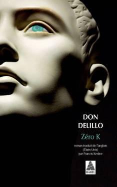 couverture de Zéro K de Don DeLillo