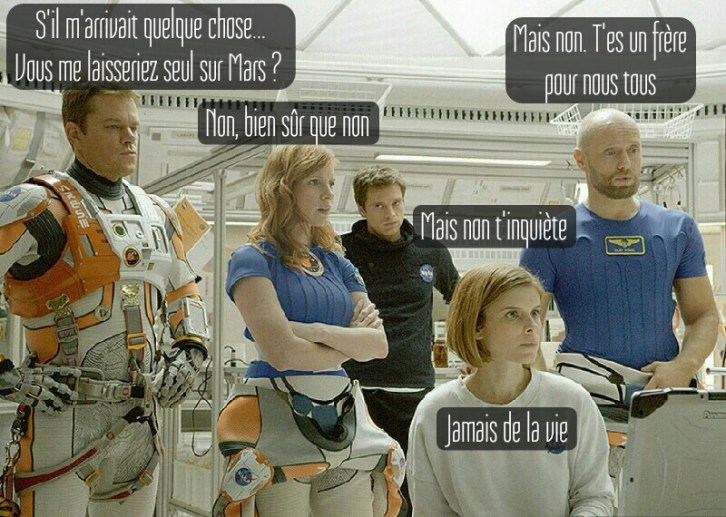 The Martian groupe