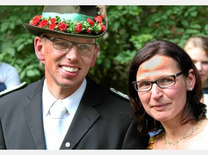 Stolze Regenten: Walburga und Frank Baumüller.