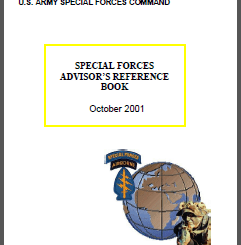 Special Forces Reference Handbook Oct 2001