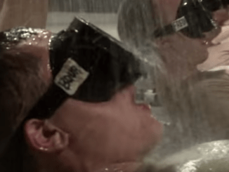 Pool Training - Air Force special operations. (Photo AF Recruiting Video)