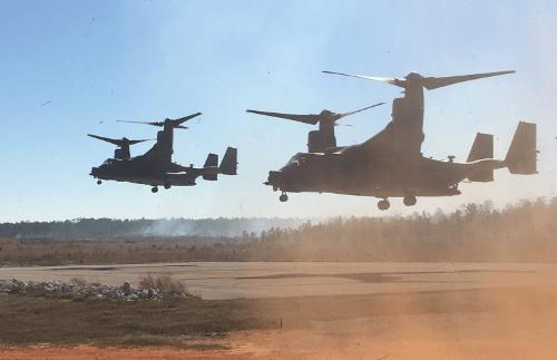 CV-22 Ospreys 1st SOW