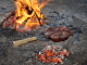 Cooking with fire - Beef spit roasted and grilled over hardwood coals (Credit William Oatis)