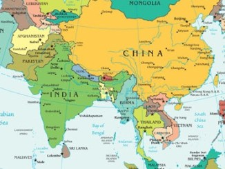 Map South and Southeast Asia (derived from CIA Map)