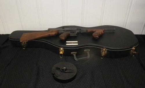 Thompson Submachine Gun, US . 45, MIAI