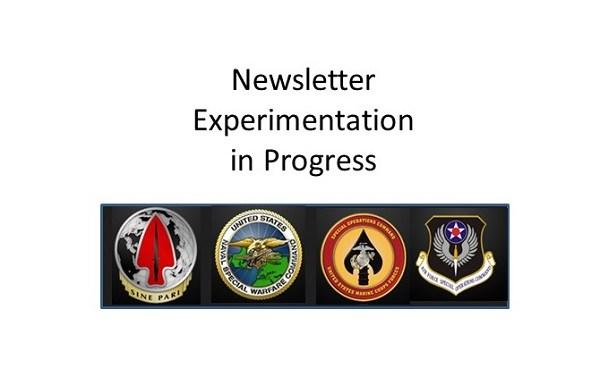 newsletter experimentation