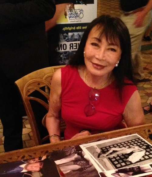 "Irene Tsu played the role of the 'honey trap' in the movie ""The Green Berets""."