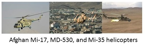 Afghan Rotary Wing Aircraft