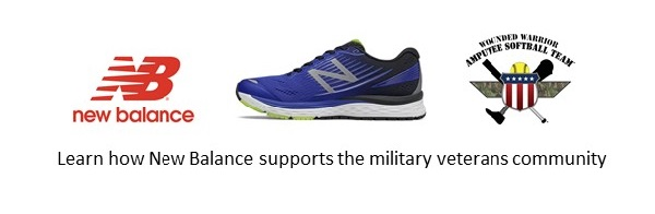 New Balance supports the military veteran community