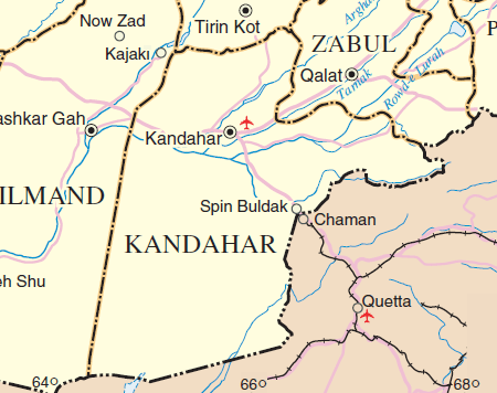 Kandahar province - General Abdul Raziq