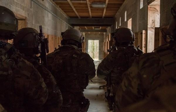 SOF Operators conduct CQB. Photo by Sgt. Matthew Britton, USSOCOM, September 22, 2018.