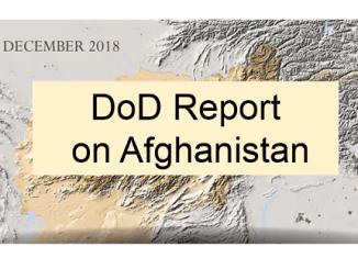 DoD report on Afghanistan December 2018
