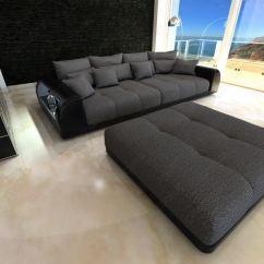 Mega Sofa Set 3 2 43 43xxl Big Miami Megasofa Mit Beleuchtung Bigsofa