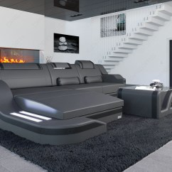 Leather Modern Sofa Sectional Aruba Microfiber Dual Reclining Chocolate Design Palermo L Shaped Corner ...