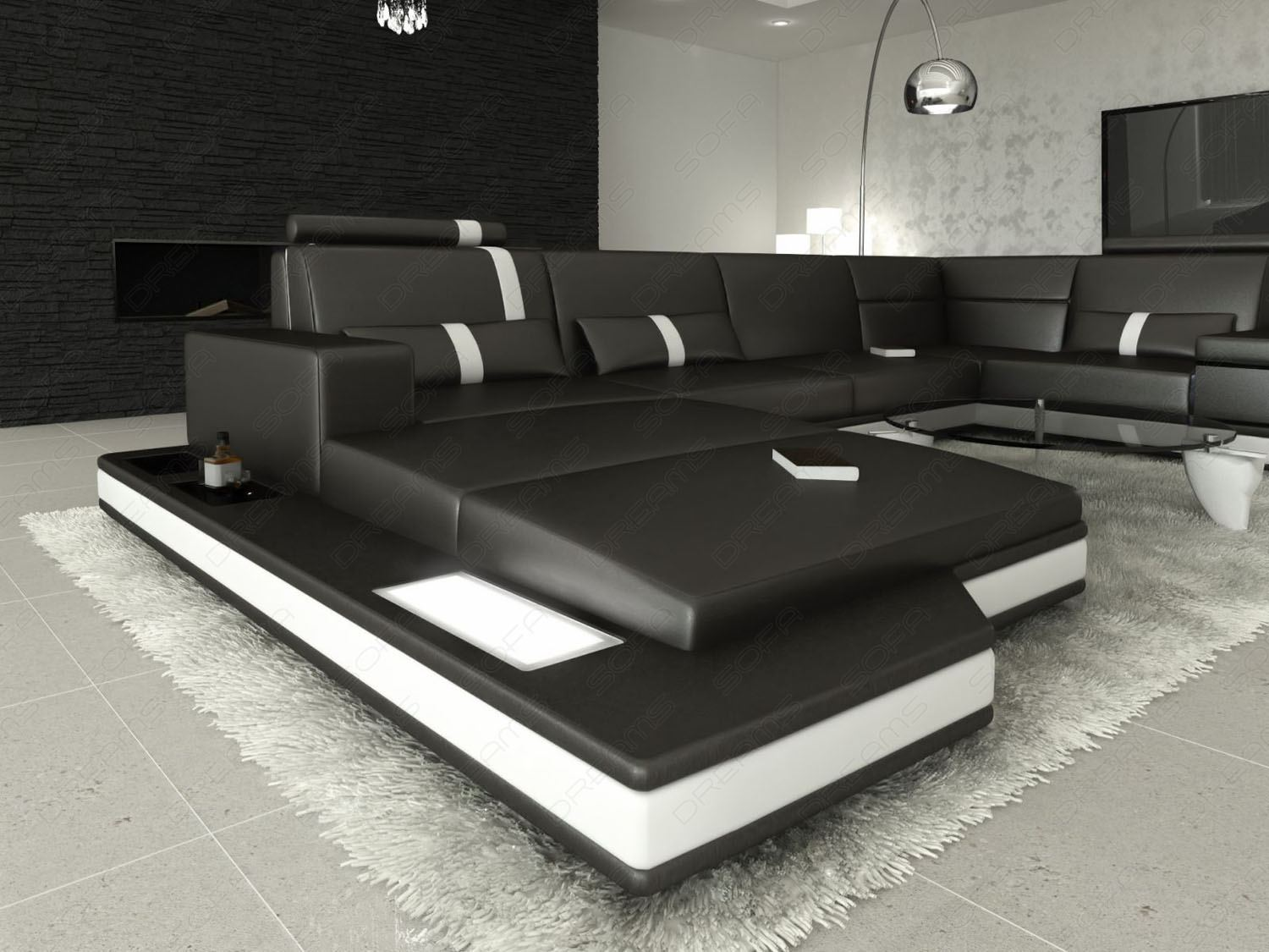 3 sided sectional sofa which is better bed or daybed leather messana couch upholstery