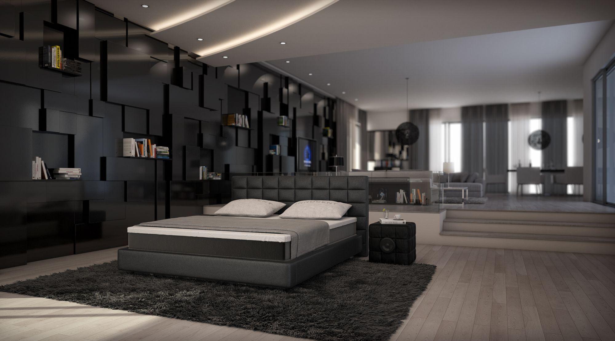 Sofas  Ledersofa  Designer Boxspringbett TRAPANI  Betten gnstig online kaufen