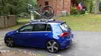 Thule Roof Bars Vw Golf Mk7 - 12.300 About Roof