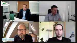 Gerald Grünberger, Torsten Beeck, Alois Vahrner und Ralf Hillebrand