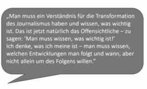 Eine der Lieblingsaussagen von Susanne Kirchoff aus ihre Studie.
