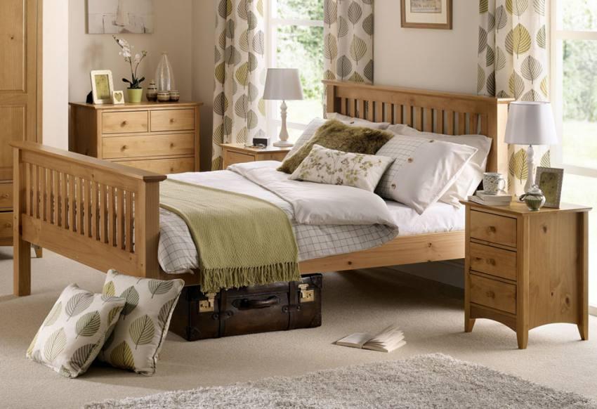 barcelona sofa uk crate and barrel sofas julian bowen - pine bed frames shaker style ...