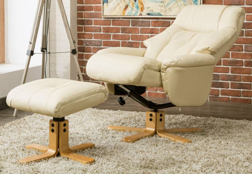 stool chair dubai swivel chairs under $200 gfa fully adjustable recliner plush footstool collection