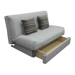 Clic Clac Sofa Bed With Storage El Dorado Leather Sectional Leila Deluxe + Drawer   Unique Design ...