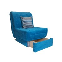 Clio Chair bed + Storage