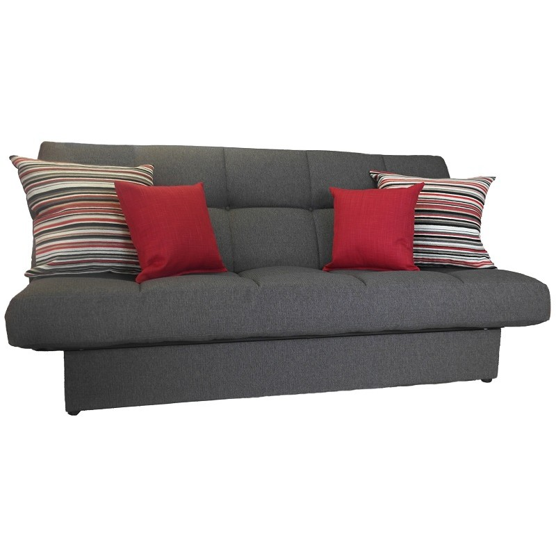 2 seat sofa bed uk love your home charlotte click clack beds | luxury mattress - but direct ...