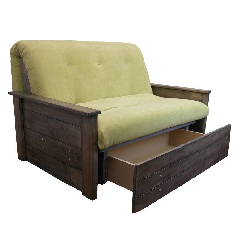 clic clac sofa bed with storage estilo ingles em couro legitimo stamford futon