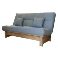 Clic Clac Sofa Bed Large Double Lime Green Sectional Click Clack Beds | Storage Solutions Sofabedbarn.co ...