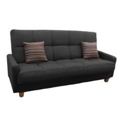 Lilac Fabric Click Clack Sofa Bed Grey Set Richmond 3 Seat | Unique Style ...