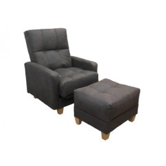 Chair Plus Stool Swing Aldi Richmond Bed | Foot Handmade - Sofabed Barn
