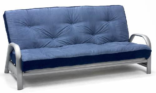 Oslo 3 Seater Metal Futon Sofa Bed