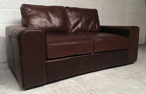genuine leather sofa uk mathis brothers furniture sofas regent bed shop for sofabeds luxury