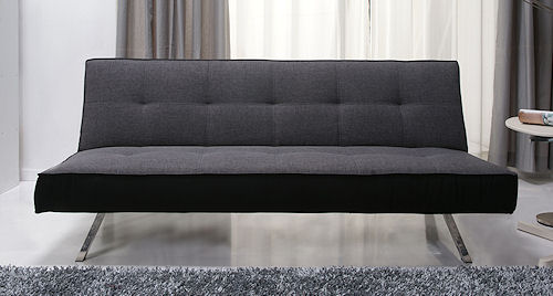 rialto sofa bed leather seat covers pebble grey fabric clic clac buy online home beds