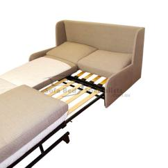 Sofa Bed Slat Nz Click Clack Offers Armless Queen Sofabed With Timber Slats Specialists