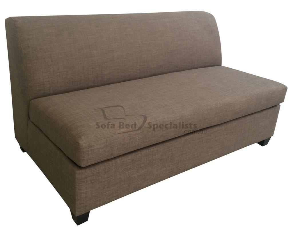 double sofa bed mattress sectional design armless sofabed with innerspring