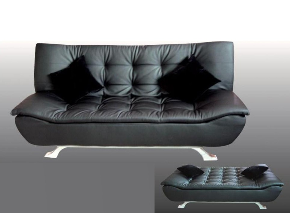 faux leather sofa bed uk lounger with storage designer black 4 seater removable matterss