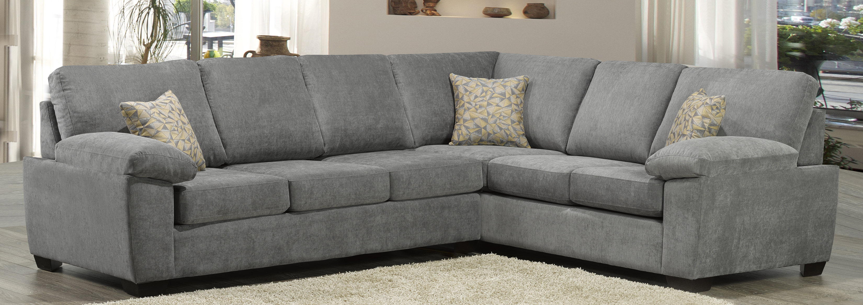 dalton sofa leon s polaris contemporary bonded leather sectional mississauga disposal taraba home review