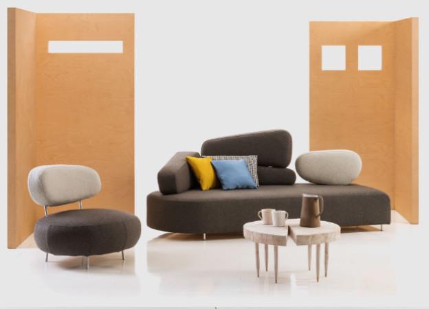 Sofa Mosspink von Brhl  Design Schlafsofa entdecken